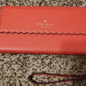 Kate Spade Iphone Wallet/Case